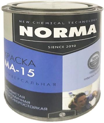 Краска масляная Novocolor ГОСТ-71 МА-15 (красная), 1 кг