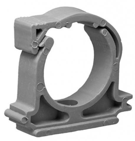 Кронштейн сантехнический для крепления фановых труб (пластик), 50 мм