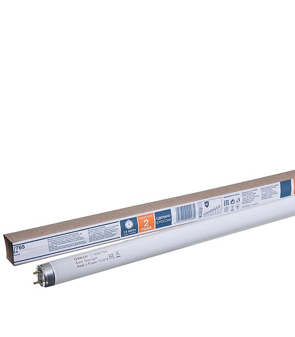 Лампа люминесцентная Osram G13 6500К холодный свет, 18 Вт, 590 мм