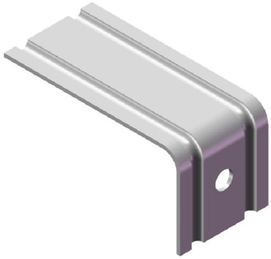 КК 100х50 2 мм, Кронштейн (порошковый окрас)