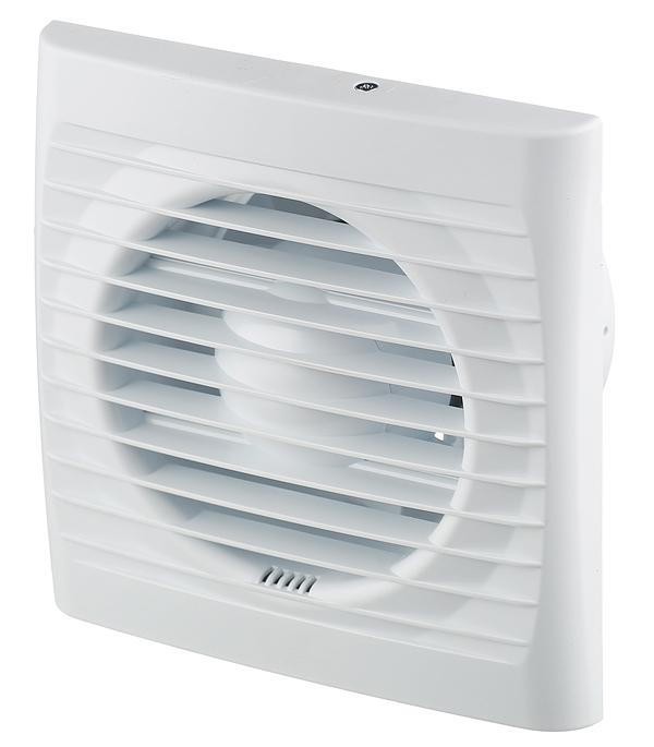 Вентилятор осевой d100 мм Auramax Optima 4 белый