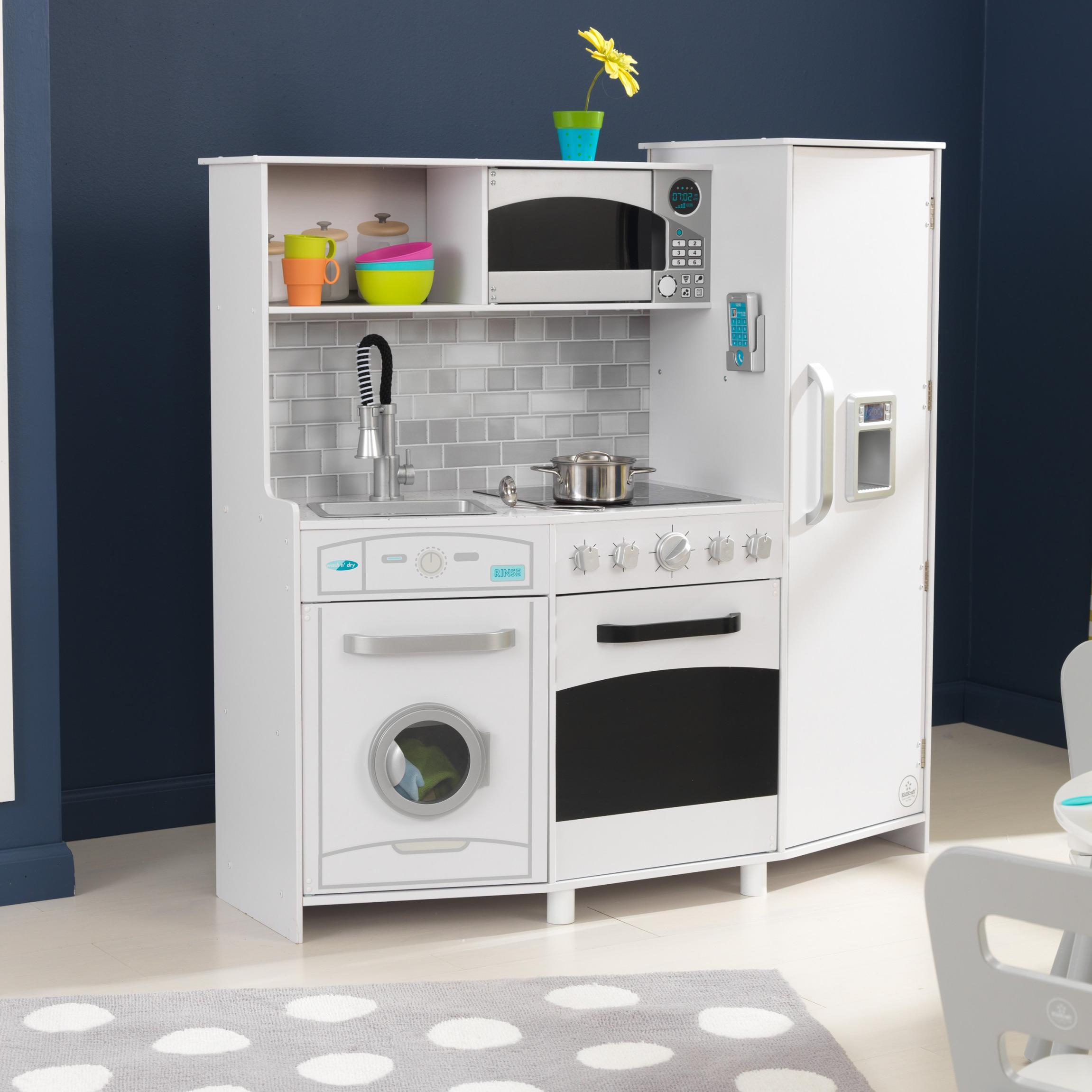Игровая кухня #and#quot;Большой Интерактив, белая