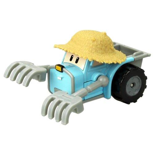 Трактор Silverlit Робокар Поли Трэки (83358) голубой/серый/желтый