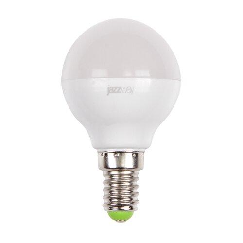 Лампа светодиодная jazzway 1027856-2, E14, G45, 7Вт