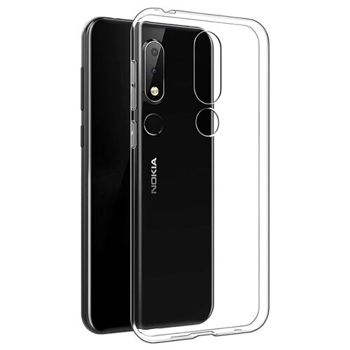 Чехол Gosso 197502 для Nokia 6.1 Plus / X6 (2018) прозрачный