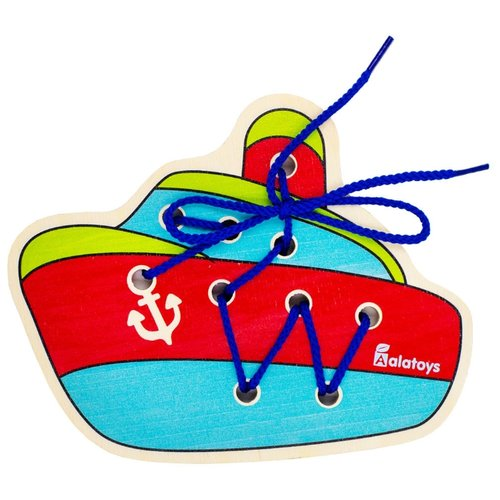 Шнуровка Alatoys Кораблик (ШН39)