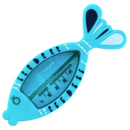 Безртутный термометр BabyOno Рыбка (772 / 775/02) голубой