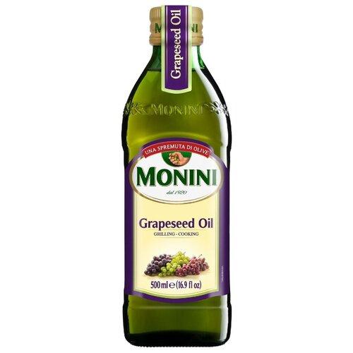 Масло виноградных косточек Grapeseed, стеклянная бутылка 0.5 л