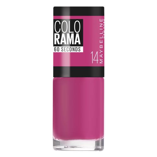 Лак Maybelline New York Colorama 60 Seconds, 7 мл, оттенок 14 малиновые сны