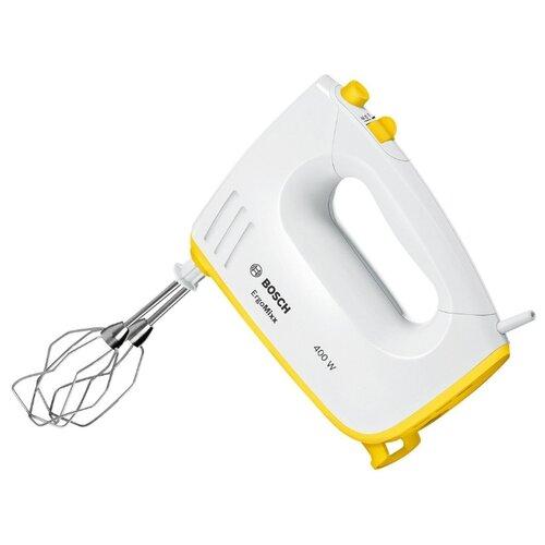 Миксер Bosch MFQ36300Y, белый/желтый