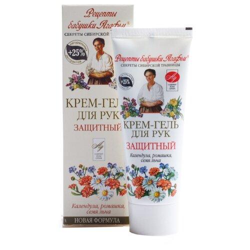 Крем-гель для рук Рецепты бабушки Агафьи Защитный 75 мл