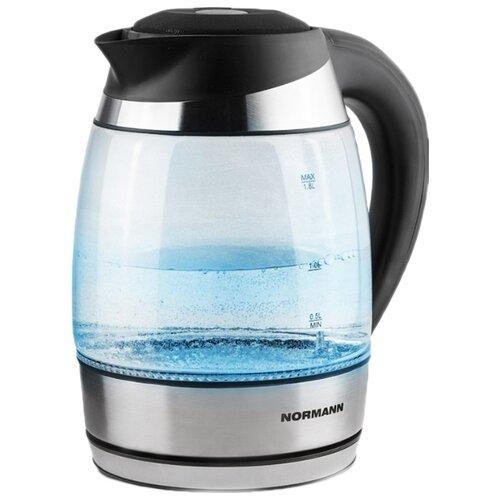 Чайник Normann AKL-241, серебристый