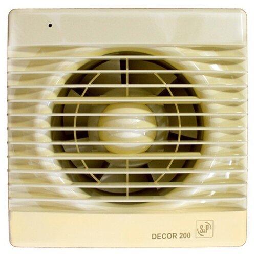 Вытяжной вентилятор Soler #and# Palau DECOR 200 C, ivory 20 Вт
