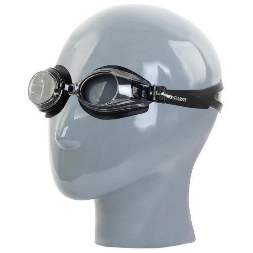 Очки для плавания Larsen DR-G101 черный