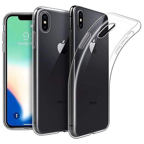 Чехол Gosso 153654 для Apple iPhone X/Xs прозрачный