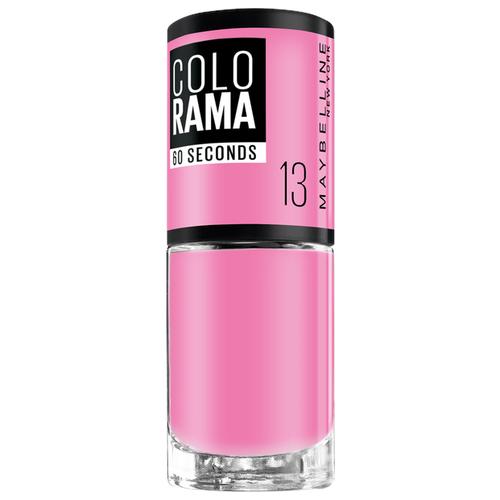 Лак Maybelline New York Colorama 60 Seconds, 7 мл, оттенок 13 розовый сюрприз