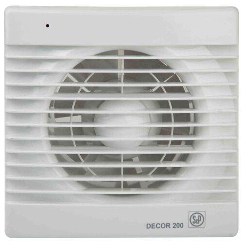 Вытяжной вентилятор Soler #and# Palau DECOR 200 C, белый 20 Вт