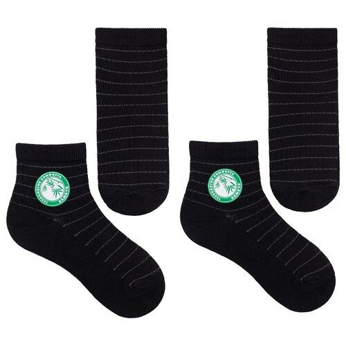 Носки НАШЕ комплект из 2 пар, размер 16 (14-16), черный