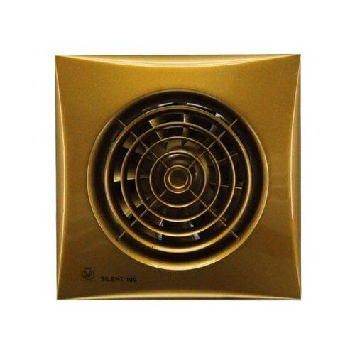 Вытяжной вентилятор Soler #and# Palau SILENT-100 CZ, gold 8 Вт