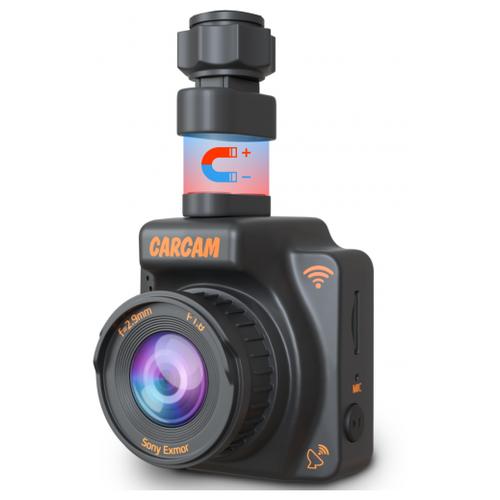 Видеорегистратор CARCAM R2, Wi-Fi, GPS черный