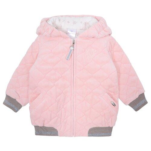 Куртка Мамуляндия размер 80, розовый