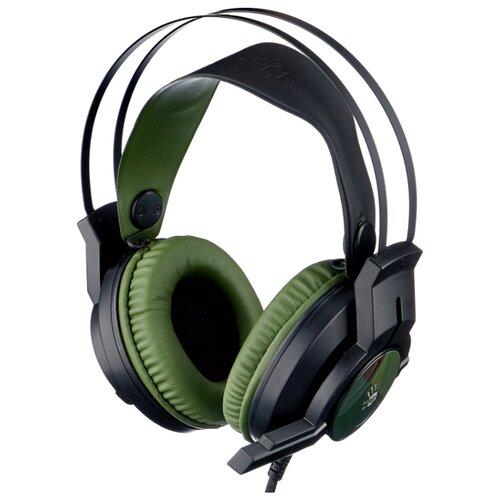 Компьютерная гарнитура A4Tech Bloody J450 green