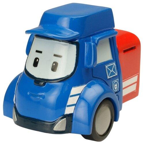 Фургон Silverlit Робокар Поли Пости (83178) 6 см синий/красный