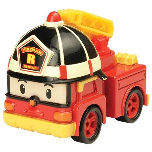 Пожарный автомобиль Silverlit Робокар Поли Рой (83161) 6 см красный