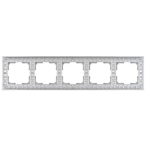 Рамка 5п Werkel WL07-Frame-05, жемчуг