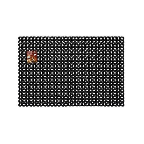 Придверный коврик VORTEX Профи ячеистый, размер: 1.2х0.8 м, черный