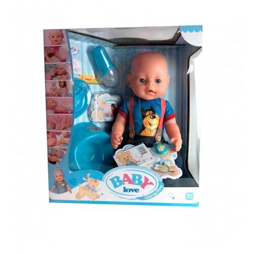 Интерактивный пупс Shantou Gepai Baby Love, 43 см, BL034D