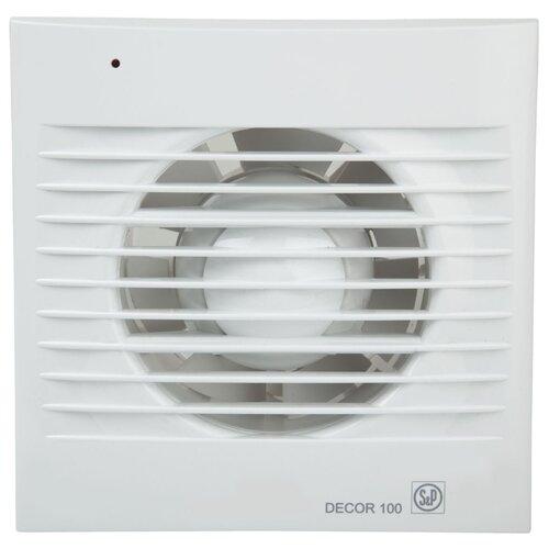Вытяжной вентилятор Soler #and# Palau DECOR 100 CR, белый 13 Вт