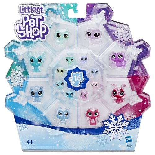 Игровой набор Littlest Pet Shop Littlest Pet Shop Холодное царство E5480
