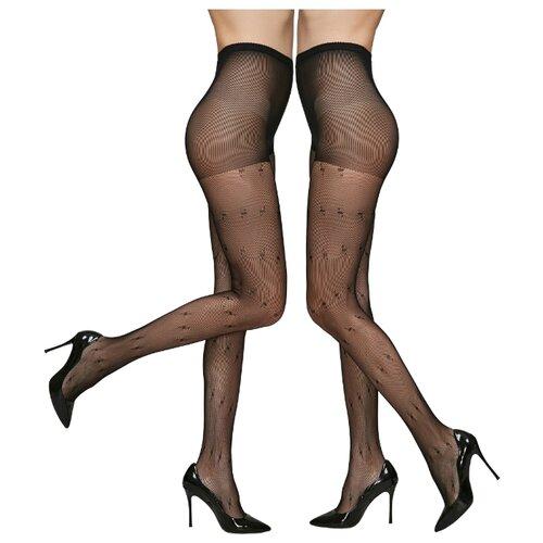 Колготки Le Cabaret 203267 40 den, размер 2-3, черный, 2 пары