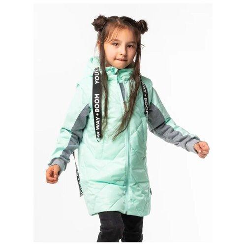Куртка BOOM! by Orby 100006 размер 122, мятный