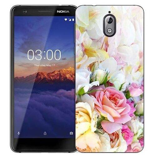 Чехол Gosso 723074 для Nokia 3.1 нежные розы