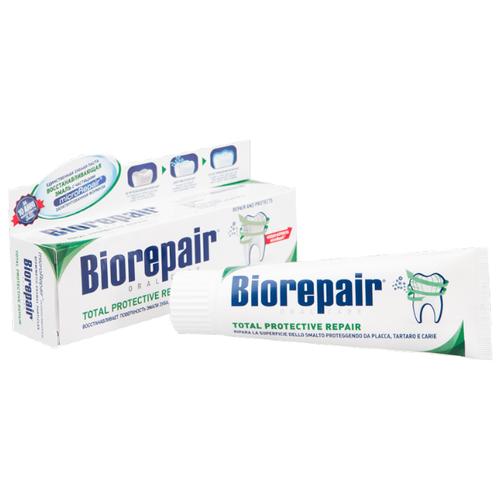 Зубная паста Biorepair Total Protection Repair, для комплексной защиты зубов и десен, 75 мл
