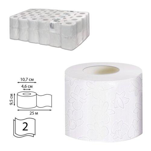 Туалетная бумага Veiro Professional Comfort T207/1 белая двухслойная 48 рул.
