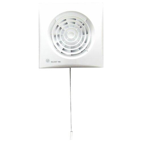 Вытяжной вентилятор Soler #and# Palau SILENT-100 CMZ, white 8 Вт