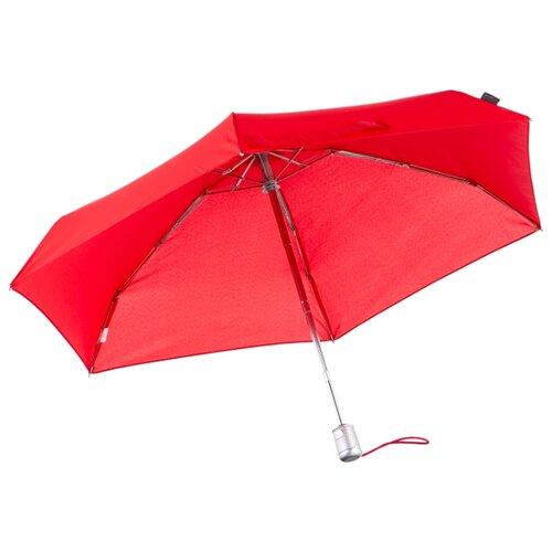 Зонт автомат Samsonite Alu Drop S (6 спиц, большая ручка) красный