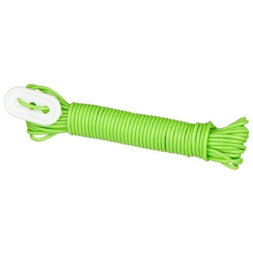 Бельевой шнур пластиковый ЭКО 10 м салатовый