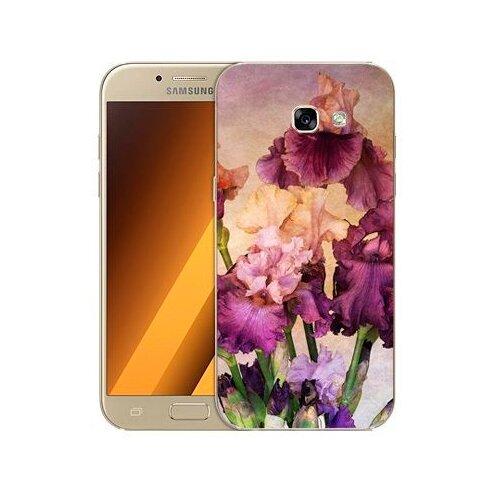 Чехол Gosso 506127 для Samsung Galaxy A5 (2017) фиолетовые цветы