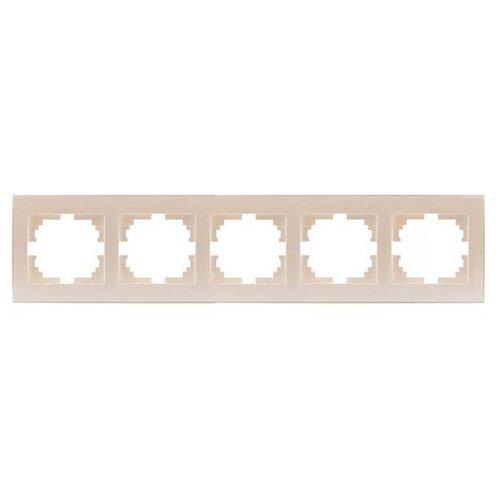 Рамка 5п Lezard 703-3030-150, жемчуг