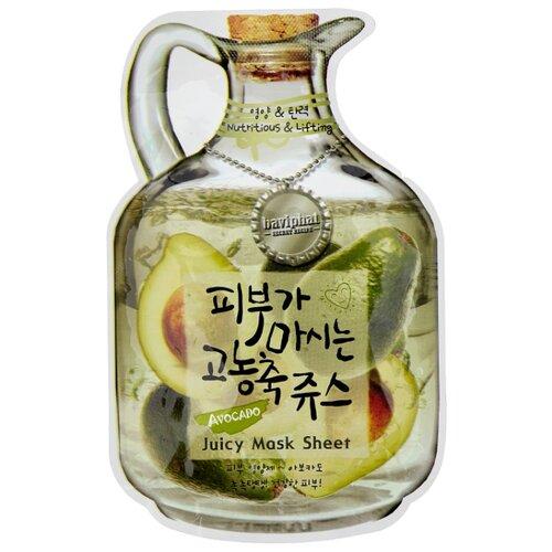 Тканевая фруктовая маска Avocado Juicy Mask Sheet Nutritious #and# Lifting, 23 г