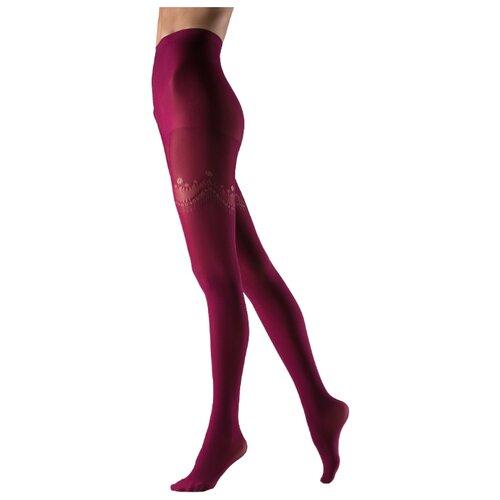 Колготки Le Cabaret 102368 / 102369 80 den, размер 2-3, малиновый (розовый)