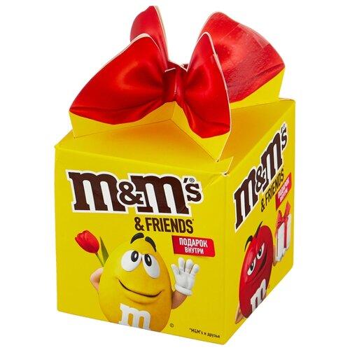 Набор конфет M#and#M\'s Friends Кубик 135 г