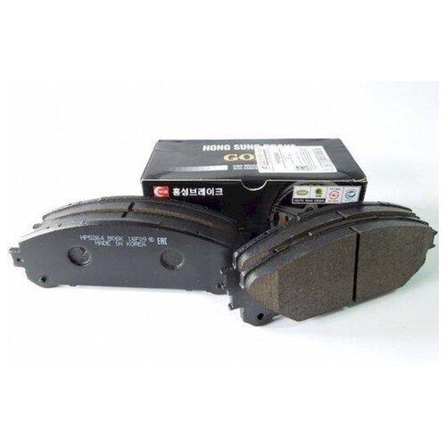 Дисковые тормозные колодки передние HONG SUNG BRAKE HP5264 для Lexus RX, Lexus NX, Toyota Highlander (4 шт.)