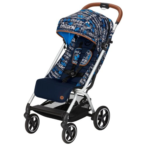 Прогулочная коляска Cybex Eesy S Plus Fashion trust blue