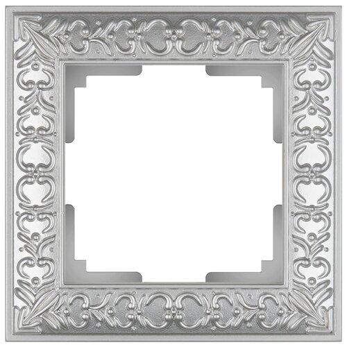 Рамка 1п Werkel WL07-Frame-01, жемчуг