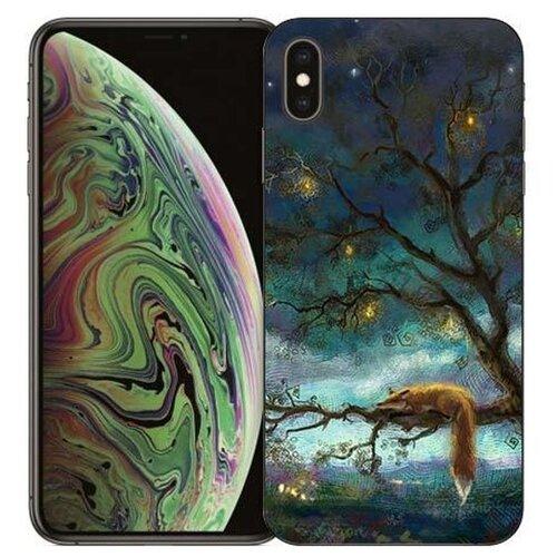 Чехол Gosso 729056 для Apple iPhone Xs Max лиса на дереве